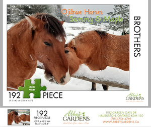 Ojibwe Horses 192-piece Puzzle